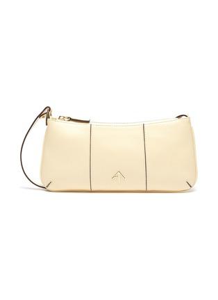 Main View - Click To Enlarge - MANU ATELIER - PITA' Multi-Panel Leather Shoulder Bag
