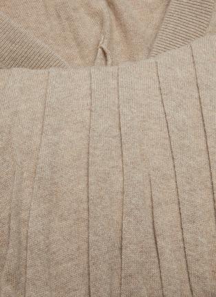 - ALEXANDERWANG - V-neck Ruch Corset Panel Sweatshirt
