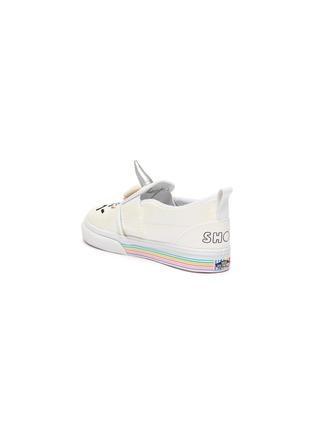 Detail View - Click To Enlarge - VANS - x FLOUR SHOP Unicorn Toddler Slip On Sneakers