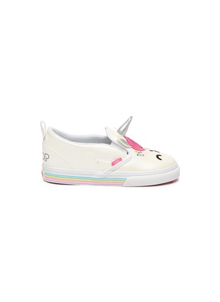 Main View - Click To Enlarge - VANS - x FLOUR SHOP Unicorn Toddler Slip On Sneakers
