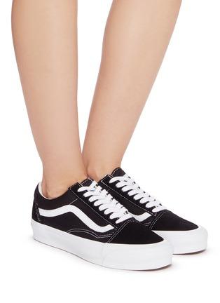 Figure View - Click To Enlarge - VANS - 'OG Old Skool' LX Lace-up skate sneakers