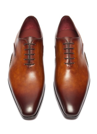 Detail View - Click To Enlarge - MAGNANNI - Opanca Wholecut' Leather Oxford Shoes