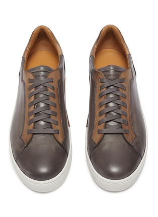 Detail View - Click To Enlarge - MAGNANNI - Opanca' leather tennis sneakers