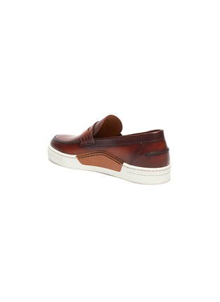 - MAGNANNI - Opanca' rubber sole leather penny loafers