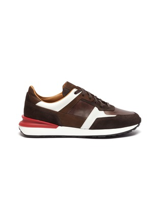 Main View - Click To Enlarge - MAGNANNI - Ecija II' Low Top Lace Up Sneakers