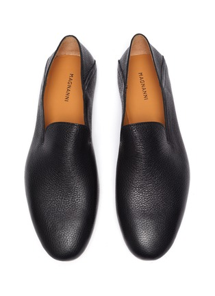 Detail View - Click To Enlarge - MAGNANNI - Stepdown' Deerskin Leather Slip-on Flats