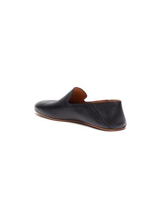 - MAGNANNI - Stepdown' Deerskin Leather Slip-on Flats