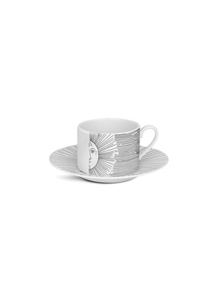 Main View - Click To Enlarge - FORNASETTI - Solitario Porcelain Teacup Set