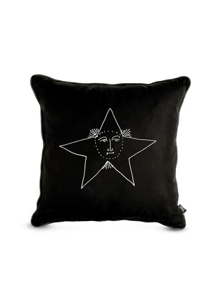 - FORNASETTI - Solitario Double Side Graphic Cushion