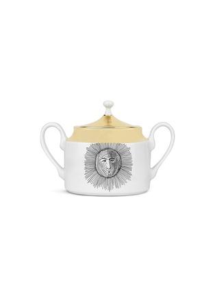 - FORNASETTI - Solitario Porcelain Sugar Bowl