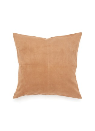 Main View - Click To Enlarge - FRETTE - Luxury Suede Cushion