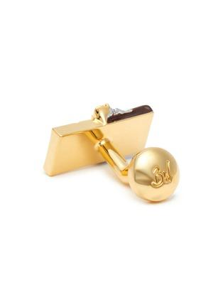 Detail View - Click To Enlarge - BABETTE WASSERMAN - Chocolate bar cufflinks