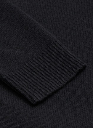 - ACNE STUDIOS - Face Patch Turtleneck Wool Sweater