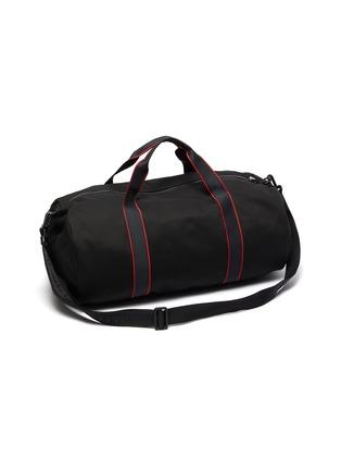 Detail View - Click To Enlarge - ALEXANDER MCQUEEN - Selvedge' logo jacquard gym bag