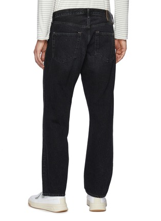 Back View - Click To Enlarge - ACNE STUDIOS - Mid Rise Whiskered Denim Jeans