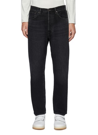 Main View - Click To Enlarge - ACNE STUDIOS - Mid Rise Whiskered Denim Jeans