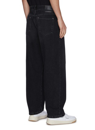 Back View - Click To Enlarge - ACNE STUDIOS - Wide Leg Jeans