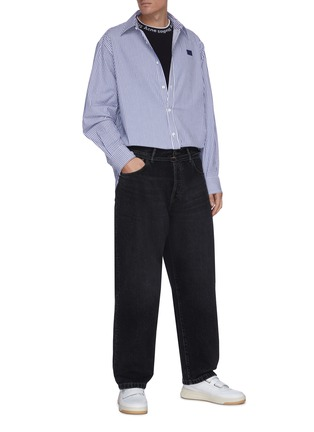 Figure View - Click To Enlarge - ACNE STUDIOS - Wide Leg Jeans