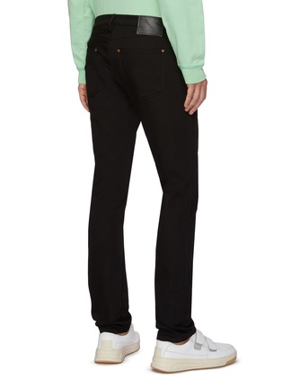 Back View - Click To Enlarge - ACNE STUDIOS - Low Rise Slim Fit Jeans