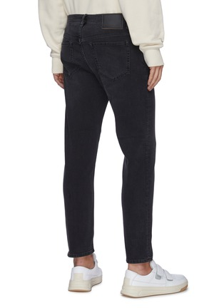 Back View - Click To Enlarge - ACNE STUDIOS - Taper Leg Crop Jeans