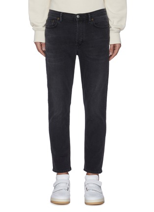 Main View - Click To Enlarge - ACNE STUDIOS - Taper Leg Crop Jeans