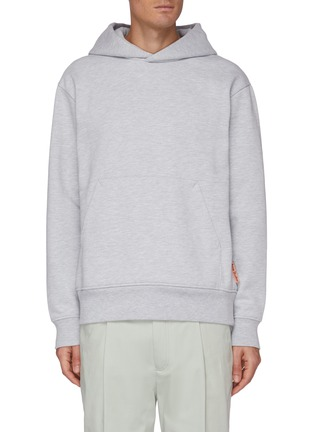 Main View - Click To Enlarge - ACNE STUDIOS - Pink Label Cotton Blend Hoodie