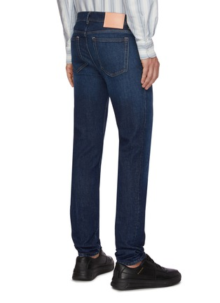 Back View - Click To Enlarge - ACNE STUDIOS - Washed skinny jeans