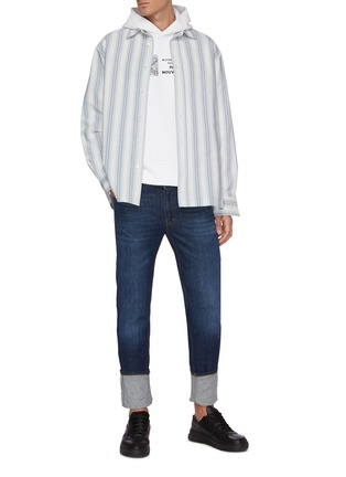 Figure View - Click To Enlarge - ACNE STUDIOS - Washed skinny jeans