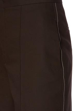 - JIL SANDER - Straight leg suiting pants