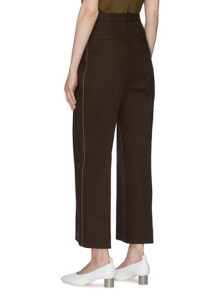 Back View - Click To Enlarge - JIL SANDER - Straight leg suiting pants