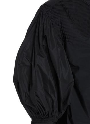 - JIL SANDER - Gathered sleeve crewneck top