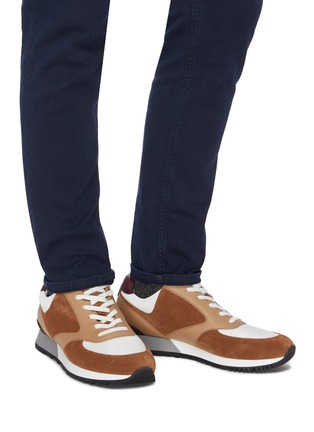 Figure View - Click To Enlarge - JOHN LOBB - Foundry' Lace Up Sneakers