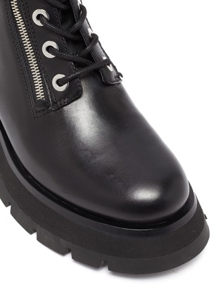 Detail View - Click To Enlarge - 3.1 PHILLIP LIM - 'KATE' Lug Sole Leather Combat Boots