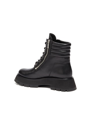 - 3.1 PHILLIP LIM - 'KATE' Lug Sole Leather Combat Boots