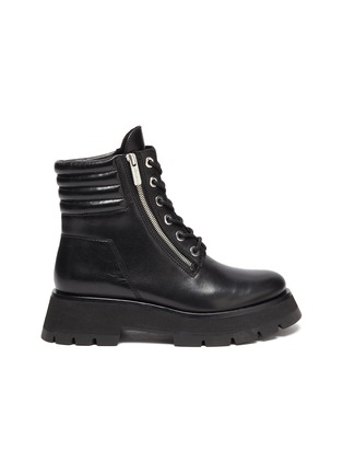 Main View - Click To Enlarge - 3.1 PHILLIP LIM - 'KATE' Lug Sole Leather Combat Boots