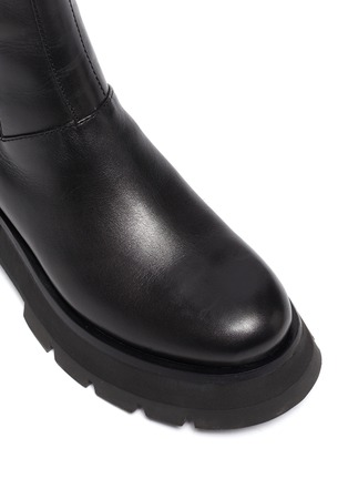 Detail View - Click To Enlarge - 3.1 PHILLIP LIM - KATE' Lug Sole Leather Chelsea Boots