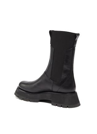 - 3.1 PHILLIP LIM - KATE' Lug Sole Leather Chelsea Boots