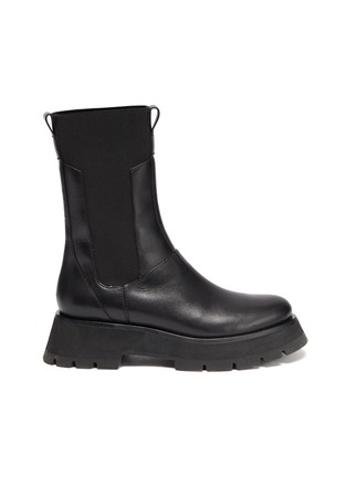 Main View - Click To Enlarge - 3.1 PHILLIP LIM - KATE' Lug Sole Leather Chelsea Boots