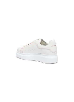 Detail View - Click To Enlarge - ALEXANDER MCQUEEN - KIDS OVERSIZED SNEAKER' IN LEATHER