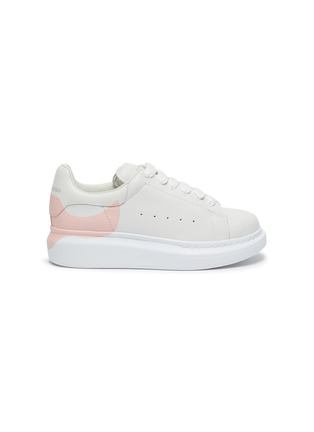 Main View - Click To Enlarge - ALEXANDER MCQUEEN - 'Molly' OVERSIZED KIDS SNEAKERS