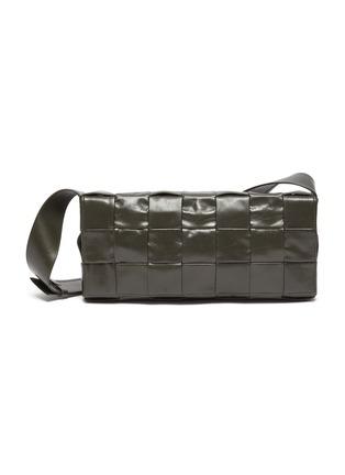 Main View - Click To Enlarge - BOTTEGA VENETA - PORTATUTTO' Intrecciato Leather Crossbody Bag