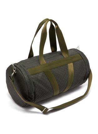 Detail View - Click To Enlarge - BOTTEGA VENETA - V Motif Rubber Duffle Bag