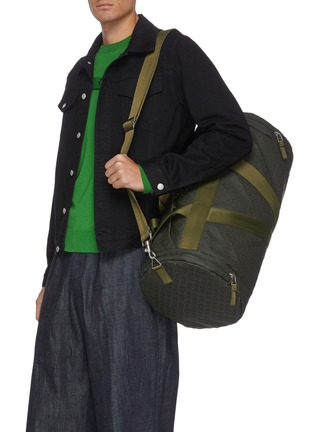 Figure View - Click To Enlarge - BOTTEGA VENETA - V Motif Rubber Duffle Bag