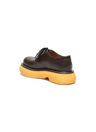 - BOTTEGA VENETA - Platform Tread Sole Leather Derby Shoes