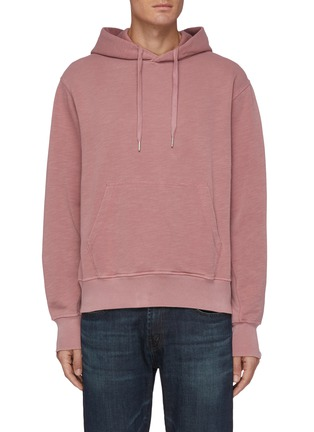 Main View - Click To Enlarge - RAG & BONE - Kangaroo Pocket Drawstring Hoodie