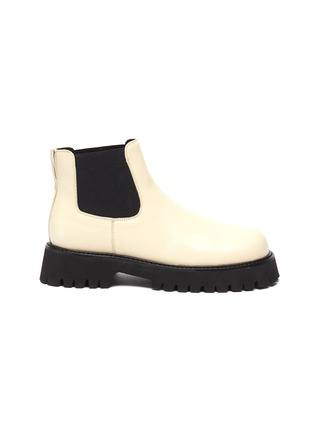 Main View - Click To Enlarge - PEDDER RED - Madison' leather Chelsea boots