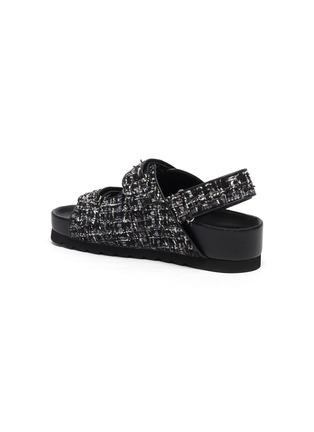 - PEDDER RED - 'Fiona' tweed platform sandals