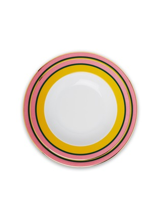 Main View - Click To Enlarge - LA DOUBLEJ - Soup and Dinner Plates Set – Rainbow Giallo