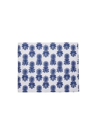 Main View - Click To Enlarge - LA DOUBLEJ - x Mascioni Housewives 5 Tablemat set – Pineapple Blu