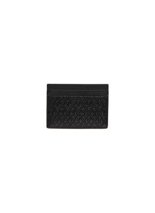 Main View - Click To Enlarge - SAINT LAURENT - Monogram embossed leather cardholder